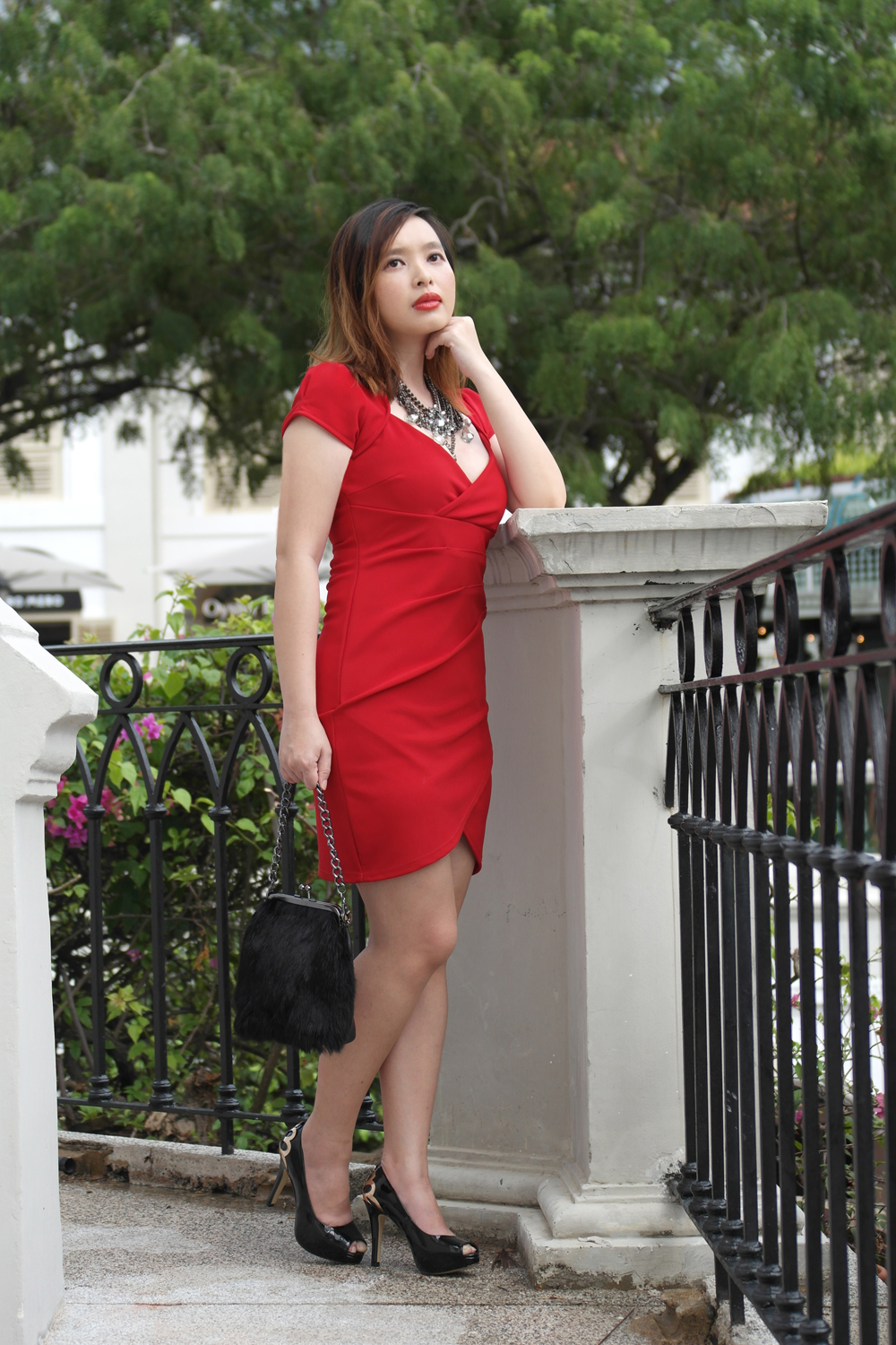 A Valentine's Day Red Dress
