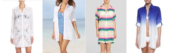 shirt beach cover-up