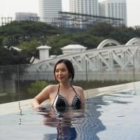 Look Fabulous in Black And White - Hot Monochrome Swimwear 2015!