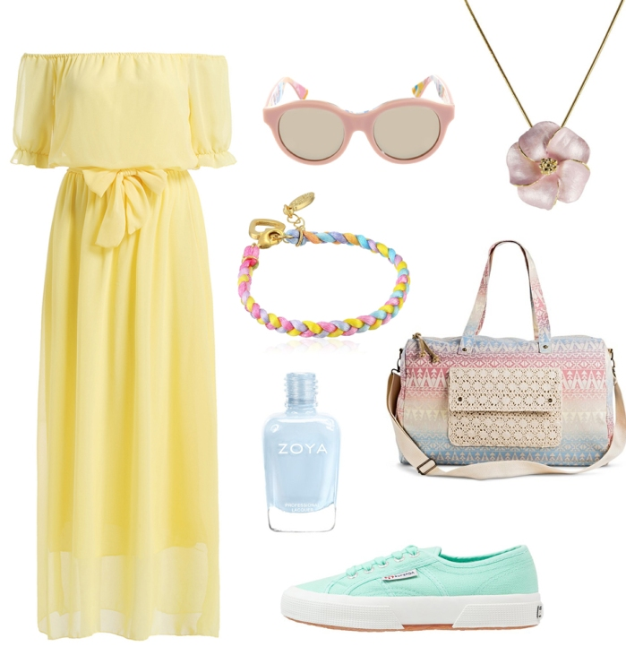 pastel casual