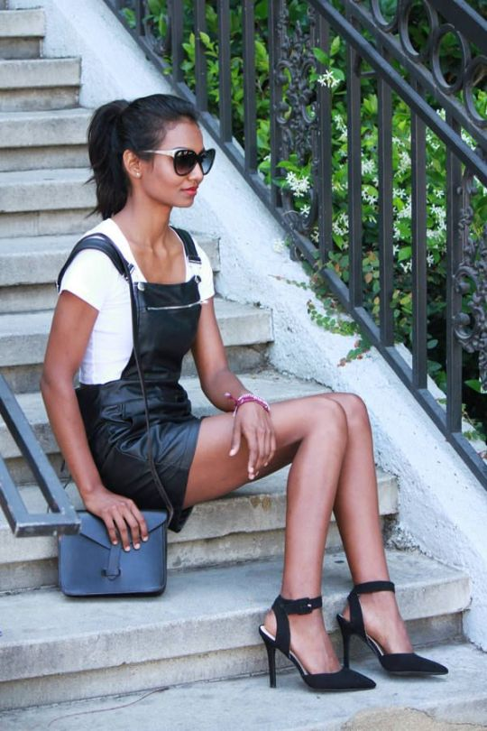 sexy-leather-overall-shorts