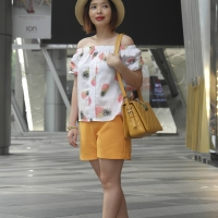 Trending Now - Wearing Yellow with White Inspirational Looks 2015!